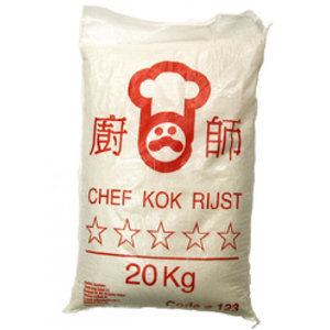 Chefkok 5 Star Rijst (20 Kg)