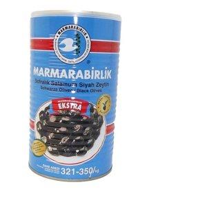Turkse zwarte olijven (EXTRA Marmarabirlik- 1400 gram)