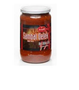 Turkse sambal oelek met pit hete peper (Erciyes-360ml)