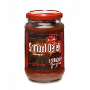 Turkse sambal oelek zonder pit hete peper (Erciyes-360ml)