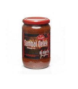 Turkse sambal oelek zonder pit hete peper (Erciyes-725ml)