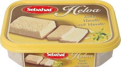 Turkse Helva vanille (Sebahat-350 gram)