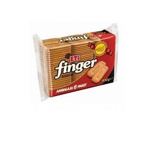 Turkse finger koekjes (Eti finger - 6 pakjes)