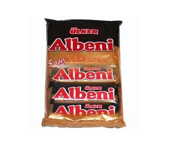 Ulker albeni choco reepjes (5 stuks)