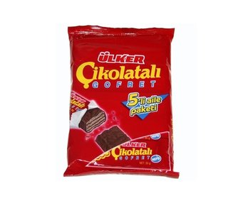 Ulker choco wafels ( Cikolata gofret- 5 reepjes)