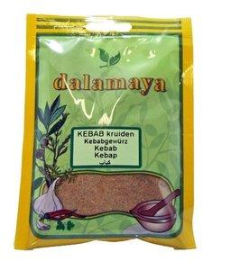 Kebab kruiden van Dalamaya kruiden (zakje)