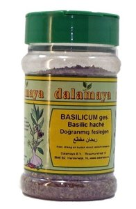 Bassilicum gesneden van Dalamaya kruiden (fles)