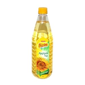 Turkse zonnebloemolie van Ulker Bizce (1 liter)