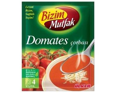 Turkse tomatensoep van Ulker Bizim (Domates)