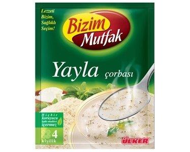 Turkse yayla soep van Ulker Bizim