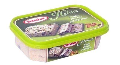 Turkse Helva met pistaches (Sebahat- 350 gram)