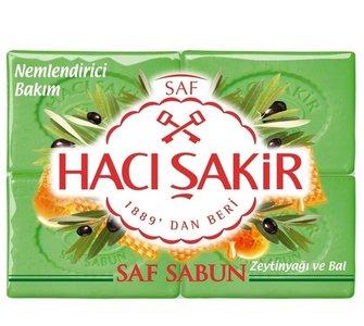 Turkse hamamzeep met olijvenolie en honing ( Haci Sakir)